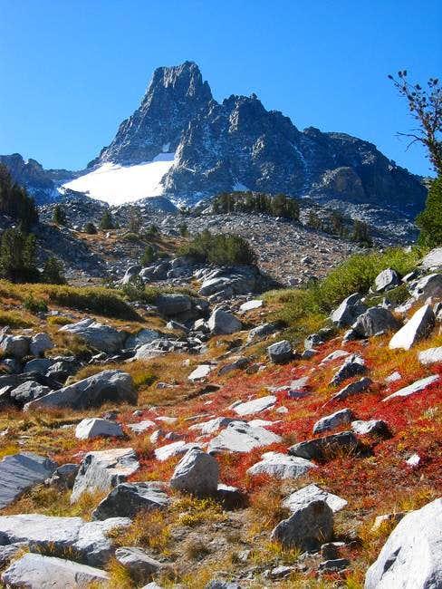 Banner Peak as seen on the...