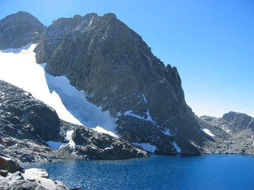 Mt. Ritter rising above Lake...