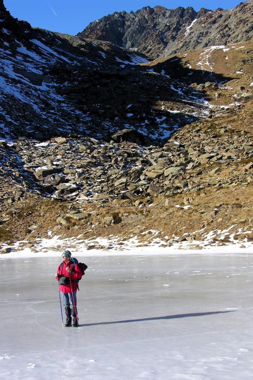 From Raty Lake to South Face of Gran Rossa
