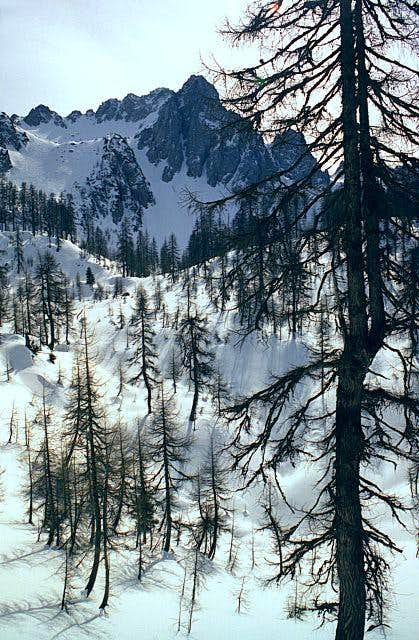 On the ski tour from Svete...