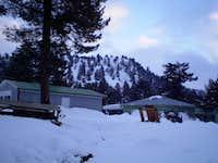 A camping site, north of Gulek