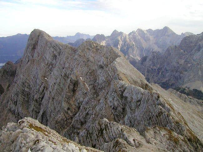 Wild and airy north faces of...