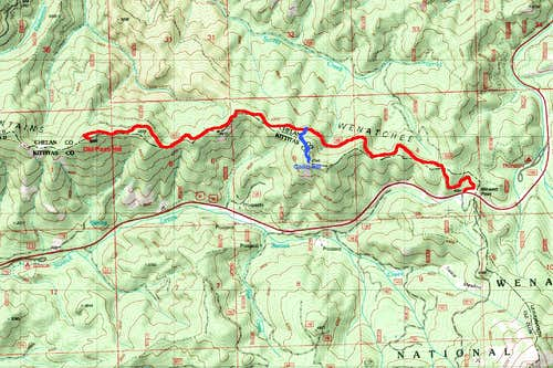 Map of the TR