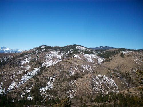 Spruce Mountain and Green Ridge