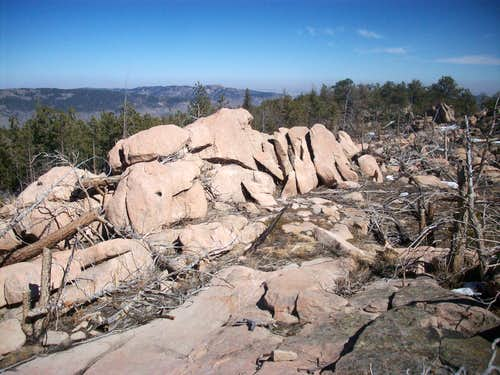 Summit Rocks of Spruce Mountain