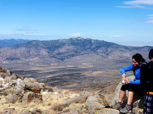 Adams Peak 8,197' from the Petersen Mountain High Point