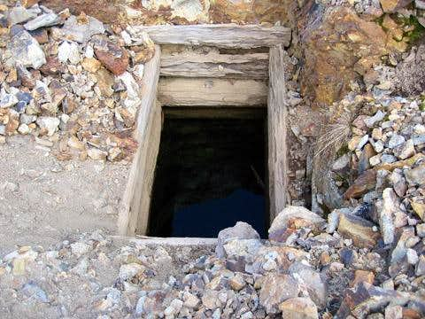 Interesting mine shaft that...