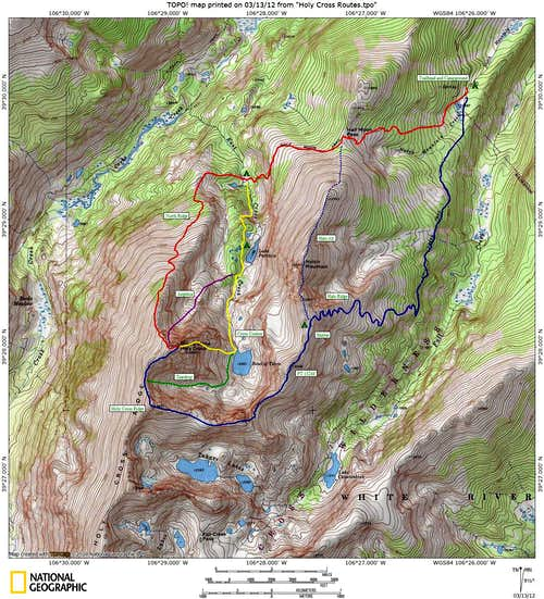 Holy Cross, Mount of the : Climbing, Hiking & Mountaineering ...