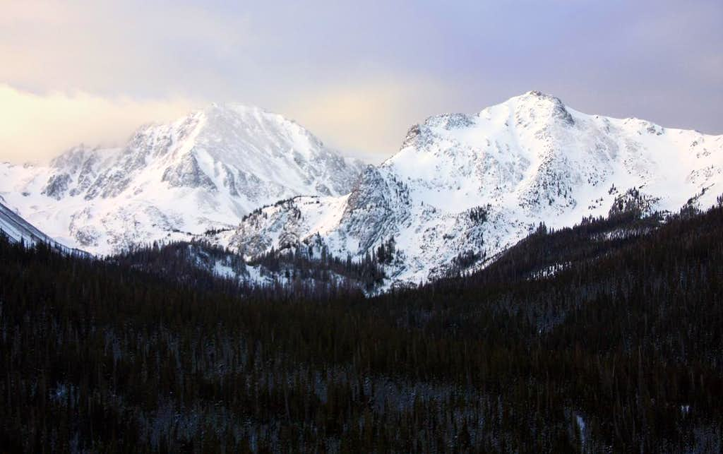 Braddock Peak and Mount Mahler