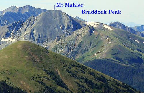 Braddock Peak Distant Perspective