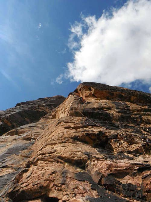 Walker Spur, 5.10b, 3 Pitches