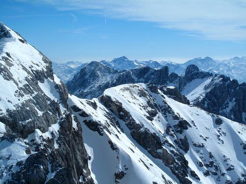 View from Hunerkogel (2694m)...