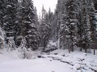 King Creek in Winter