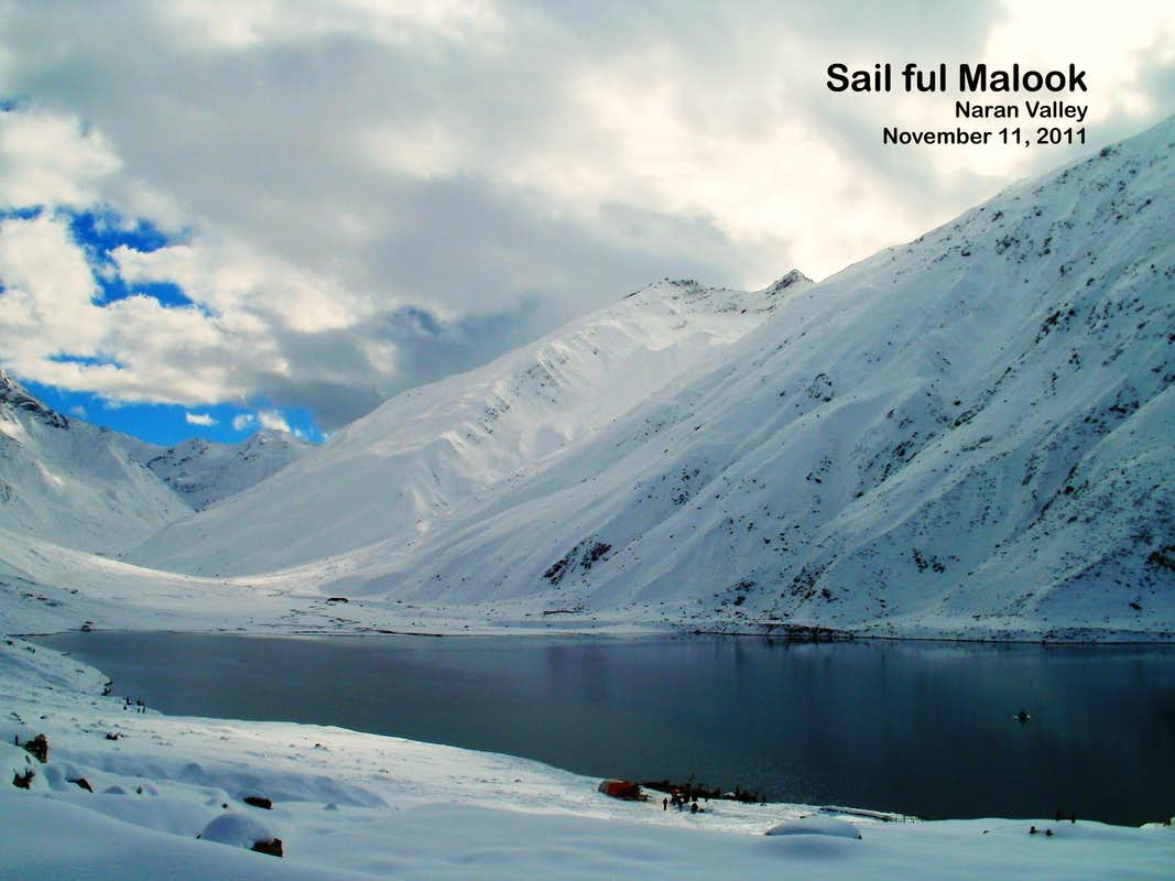 Stunning views of beautiful Lake Saif ul Malook, Naran Khyber ...