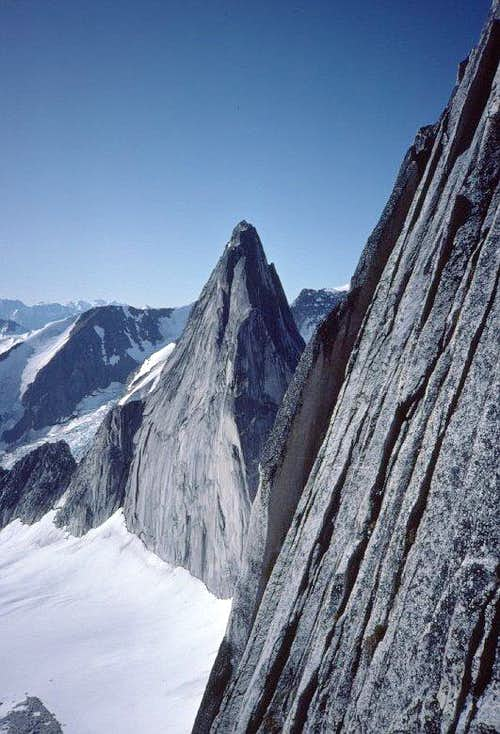 View across Bugaboo's E face