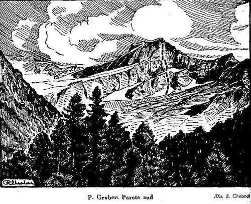 Punta Grober - Via degli Alpini