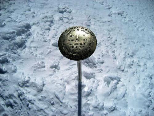 Denali USGS Marker