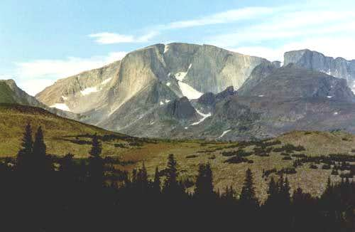 East Face and glacier.