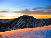 Serene view of Quandary Peak