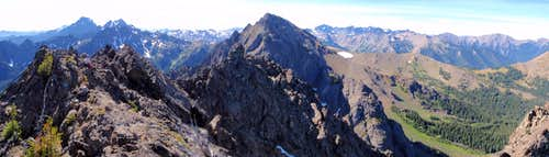 Iron Summit Panorama