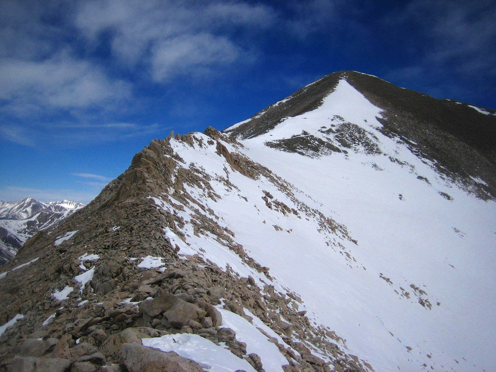 Mt. Antero West Slopes in Winter