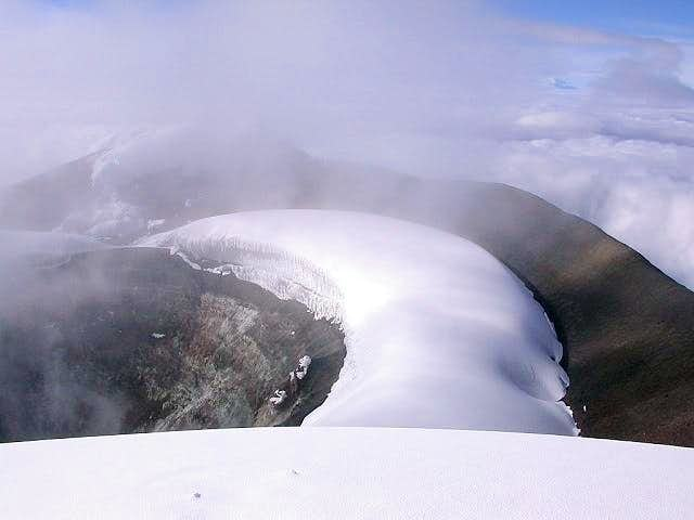 The Cotopaxi crater, 1st...