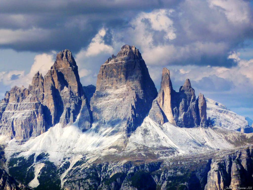 Tre Cime di Lavaredo South side