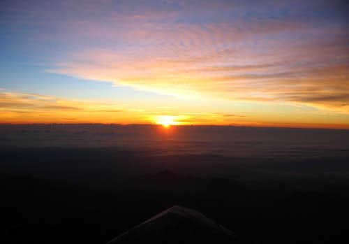Sunrise on Orizaba