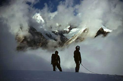 On the Mera Glacier