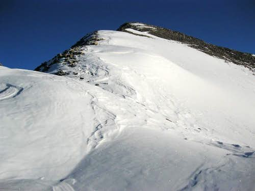 Pacific Peak's Snowy South Ridge
