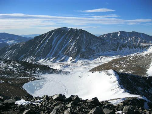 Pacific Tarn w/ Quandary behind