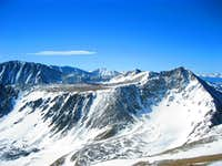 Basin below Pacific Peak