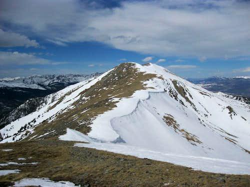 Loooooong ridge to Peak 5!
