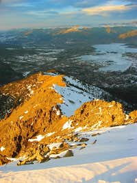 Final Ridge down from Peak 1