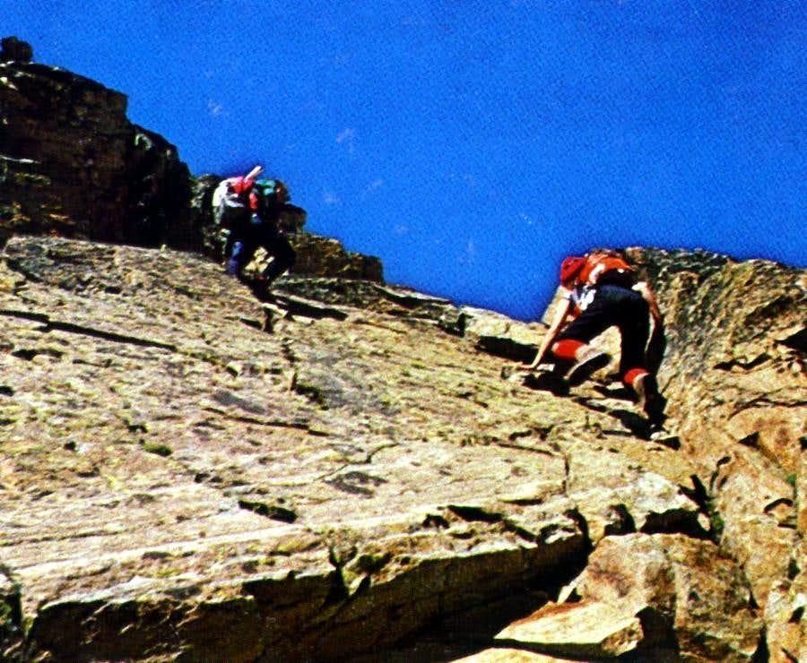 P. Garin Normal Route from Gimillan/Grauson 1978