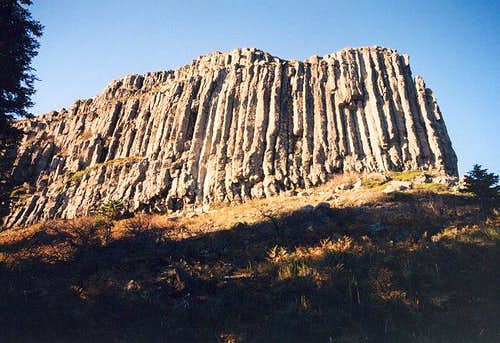 The basalt columns that...