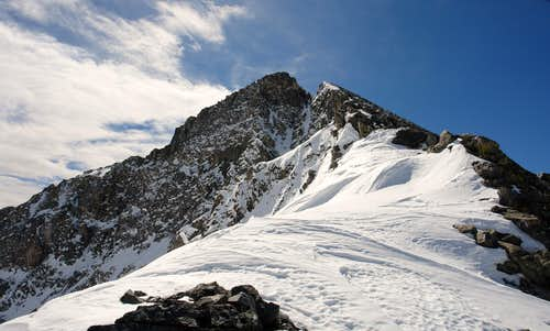 The North Face of Pacific Peak