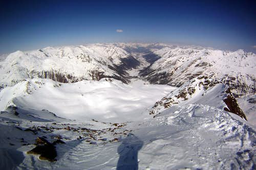 The valley of Livigno