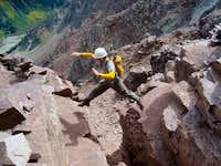 Pyramid Peak, CO 2010
