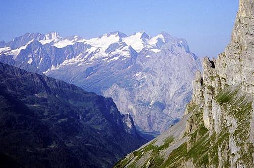 The Wetterhorn group from the...