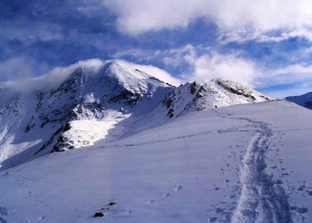 Drift Peak as seen from the...