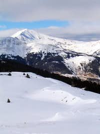 Jacque Peak from Gold Hill,...