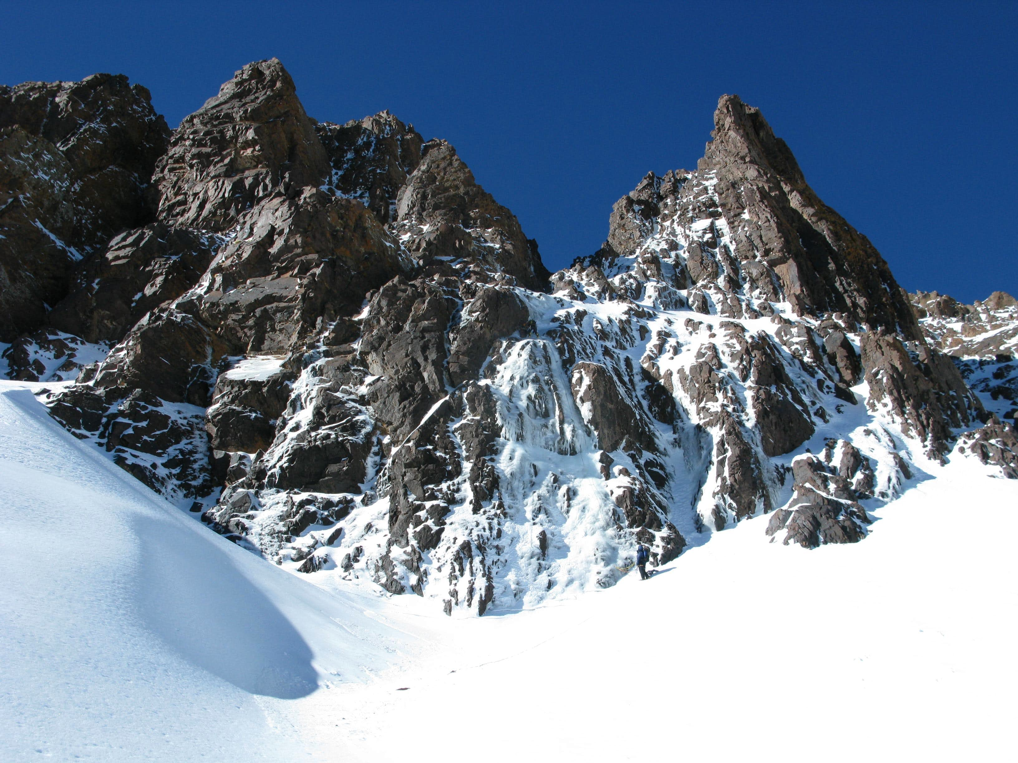 Toubkal Winter Climbing