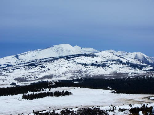 Eagle Peak from Hat Mountain