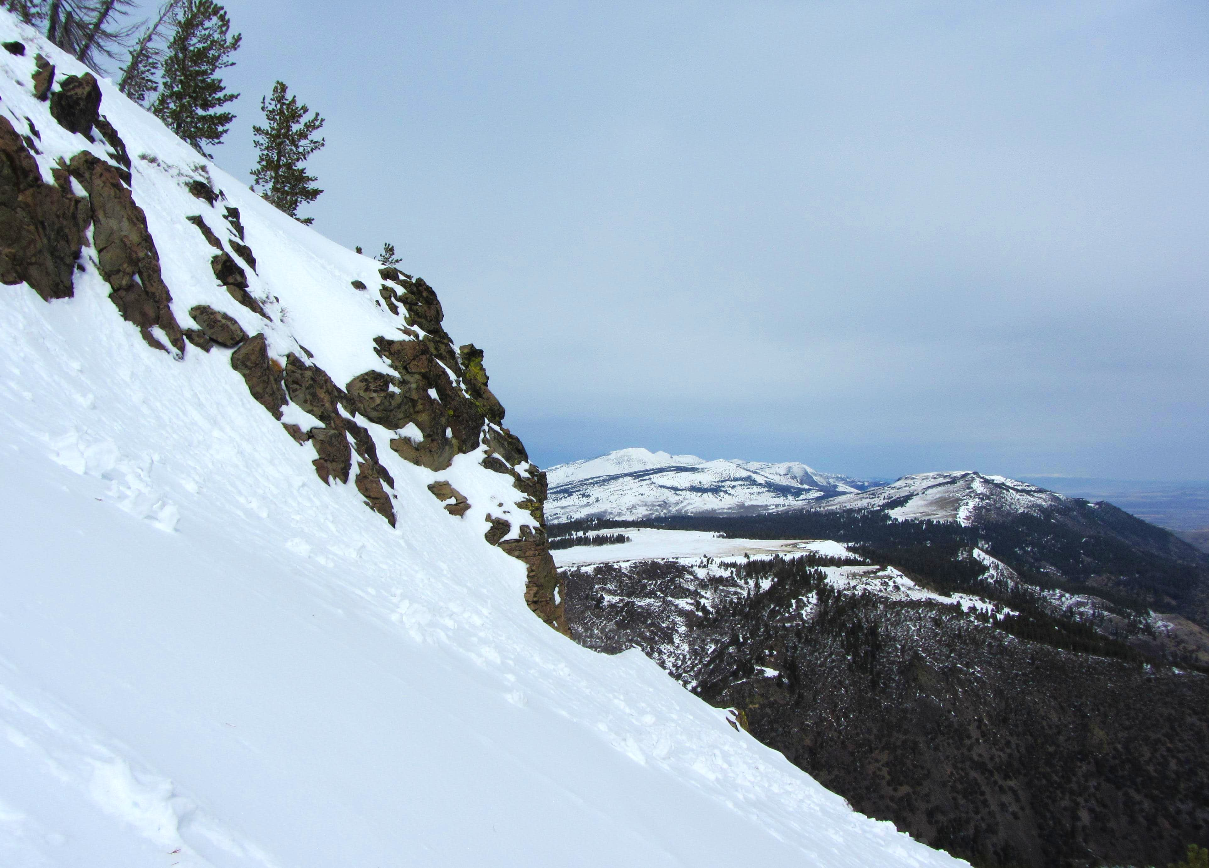 Climbing the East Face of Hat Mountain