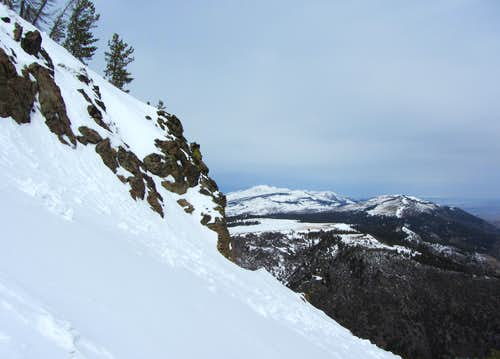 East Face slopes & Eagle Peak