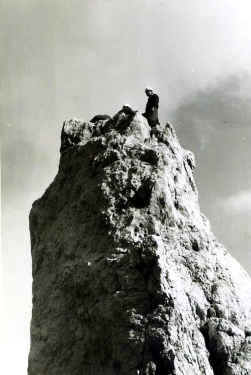 Villach's Needle <i>(2050m)</i> Summit 1968