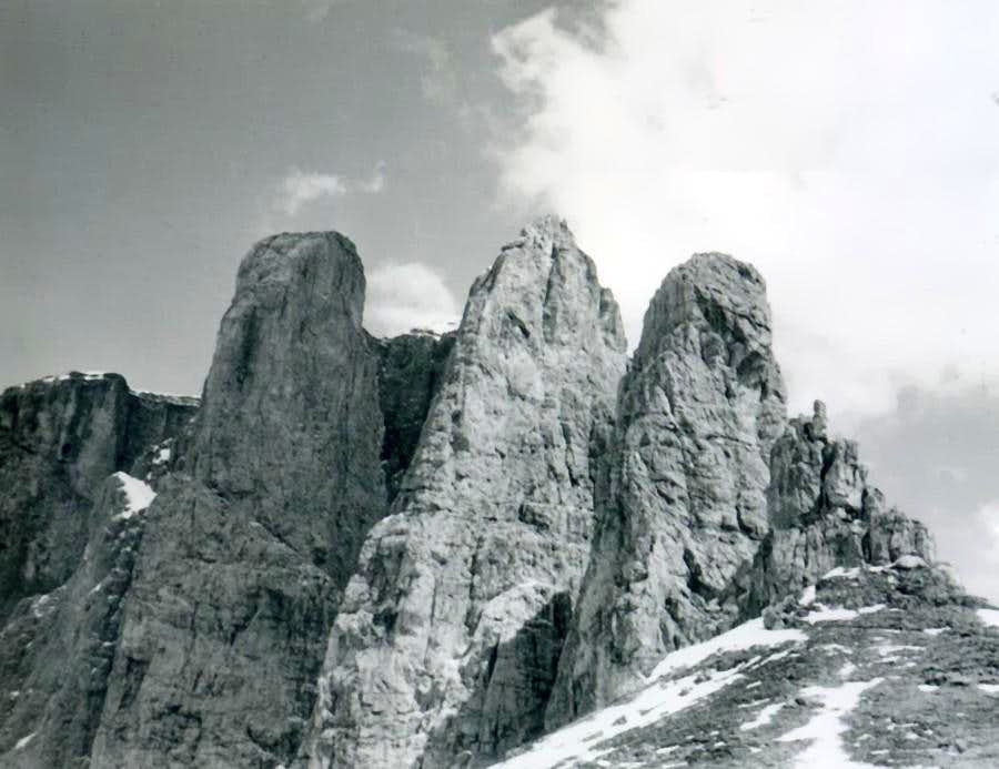 Sella's Towers 1968