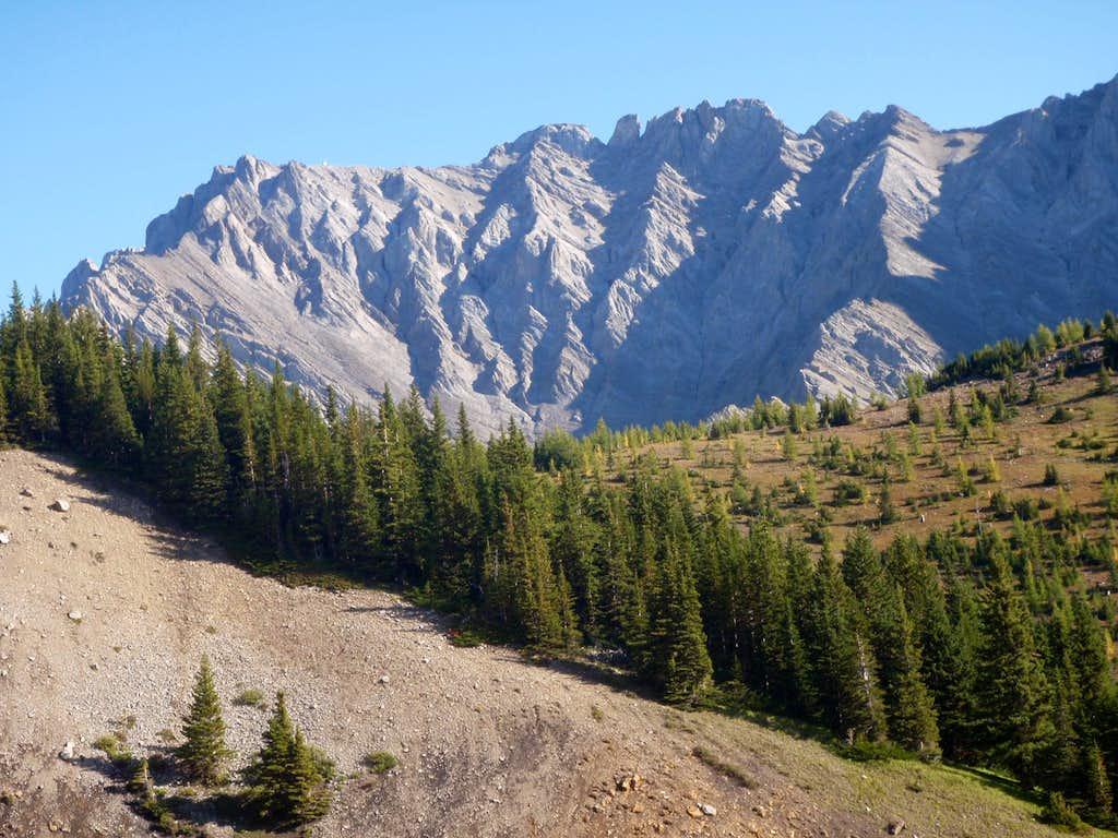 Mt. Burney from Upper Opal Creek