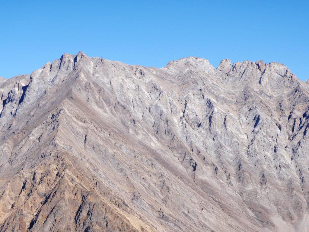 SW Ridge and South Face of Mt. Burney